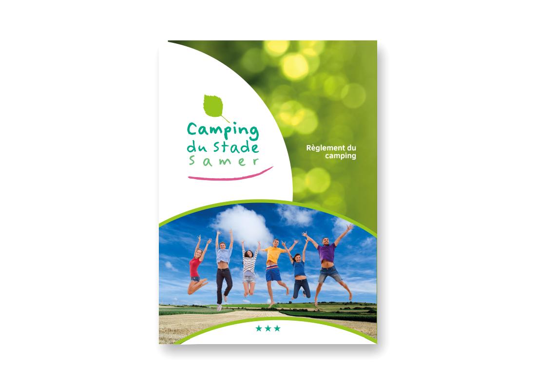 brochure camping