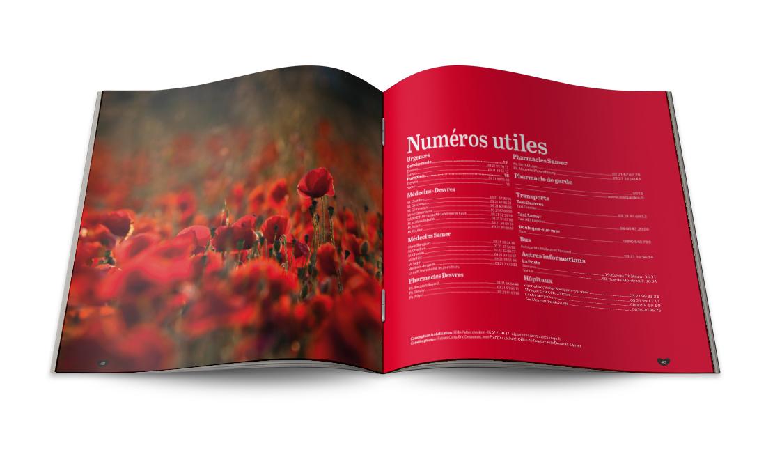 brochure touristique Desvres-Samer